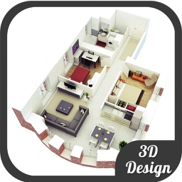 Bedroom 3D Floor Plans & Design Ideas for iPad
