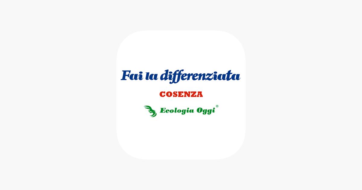 Raccolta Differenziata Cosenza Calendario 2019.Fai La Differenziata Cosenza Su App Store