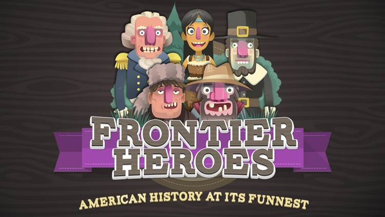 Frontier Heroes – A Planet H game from HISTORY screenshot-0