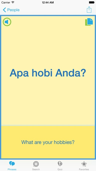 Indonesian Phrasebook - Travel in Indonesia with ease iPhone