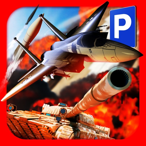 3D Trucker Simulator Free - Army Tank, Truck and Plane Parking Game icon