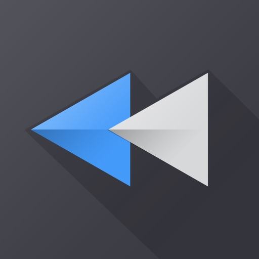 Reverse Vid + Backward Playing Video Rewinder for Vine and Instagram