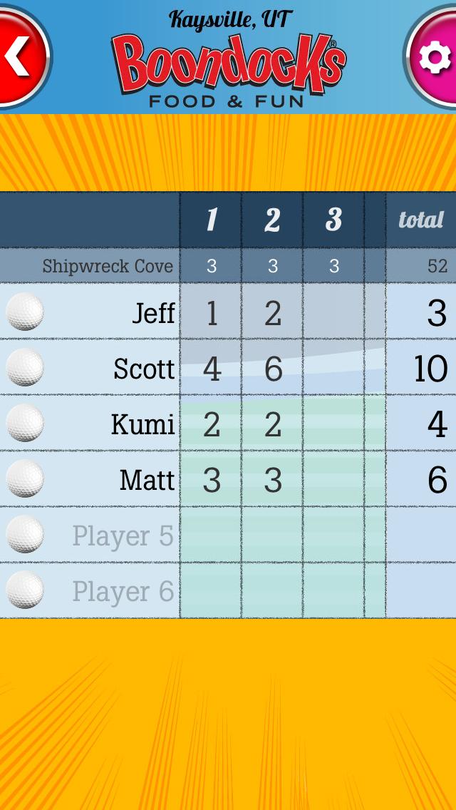 download Boondocks Mini Golf Scorecard apps 4