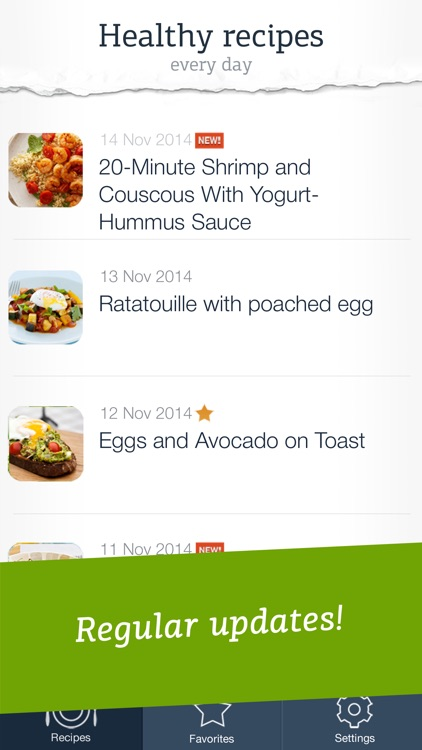Healthy Recipes - quick and easy meals for a well-balanced diet screenshot-4
