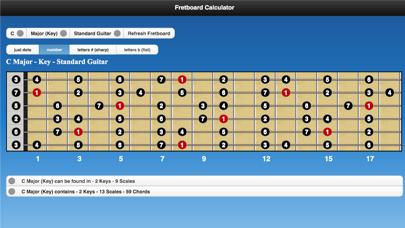 Fretboard Calculator screenshot one