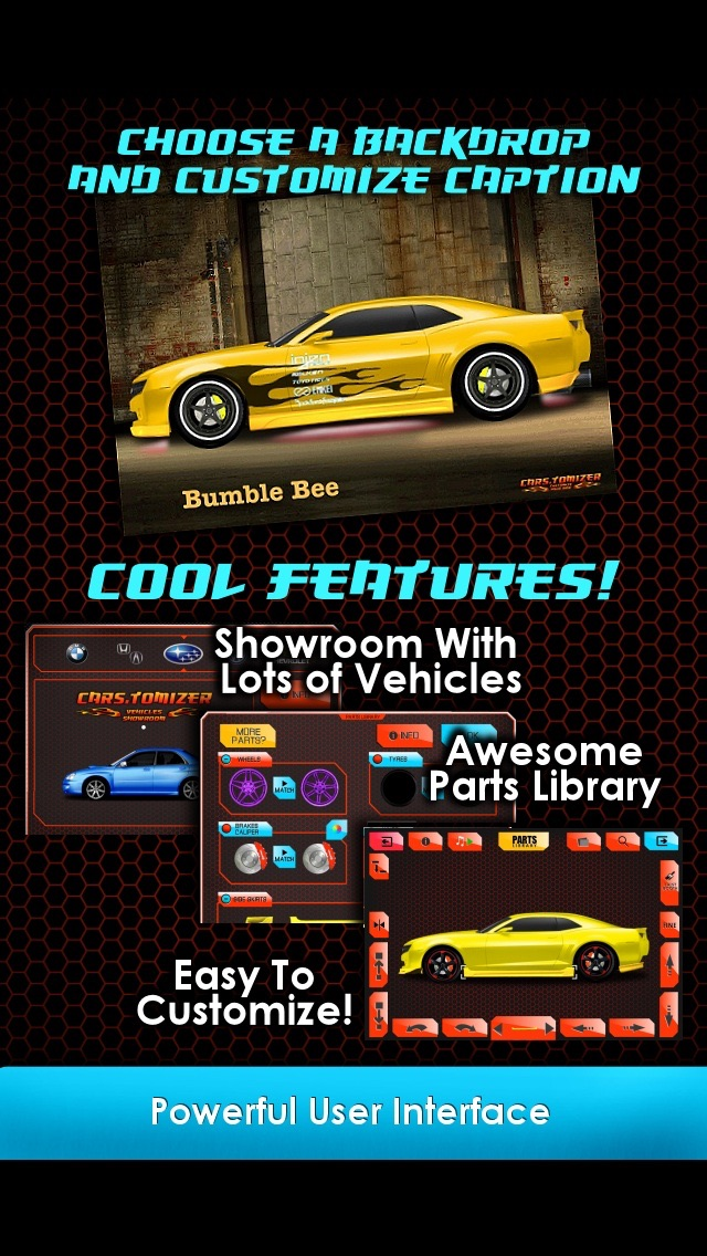 Cars.tomizer - Customize Your Ride! screenshot two