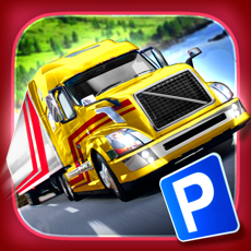 Activities of Trailer Truck Parking with Real City Traffic Car Driving Sim