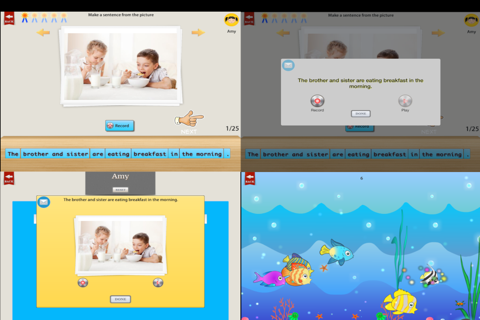 Comprehension Builder 2 - WH Question App for Engl - náhled