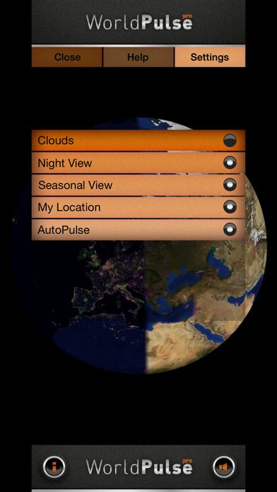 WorldPulse Earth Weather Clouds & Temperatureのおすすめ画像4