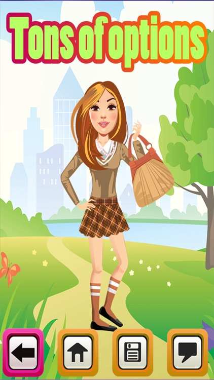 My High School BFF Fashion Club Dress Up Game - Your Virtual Star Salon World Maker Experience - The Free App
