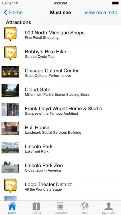 Chicago Travel Guide Offline screenshot-3