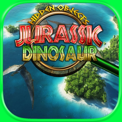Hidden Objects Jurassic Dinosaur FREE