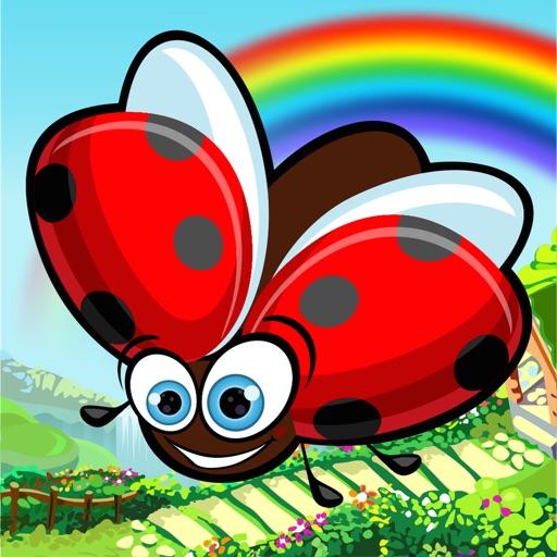 Ladybug Flap Hero: Crazy Bug Bounce and Munch iOS App