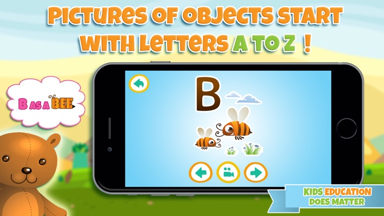 Learn alphabet and letter - ABC learning game for toddler kids & preschool children