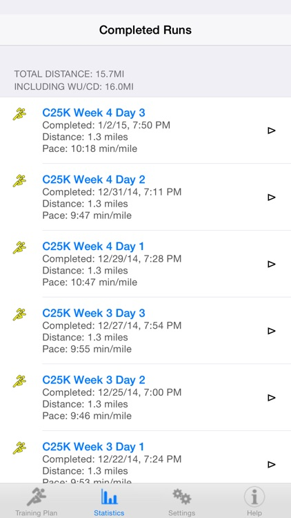 RunDouble (Go from couch to 5k in 9 weeks!) screenshot-3