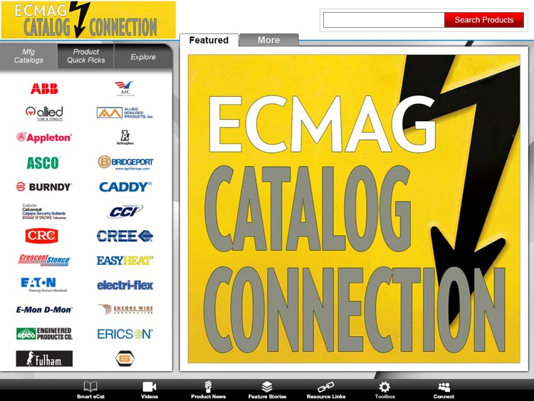 ECMAG CATALOG CONNECTION App screenshot-0