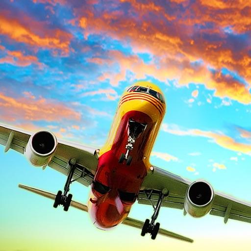 Самолет Самолет симулятор гонки Flight Sim 3D