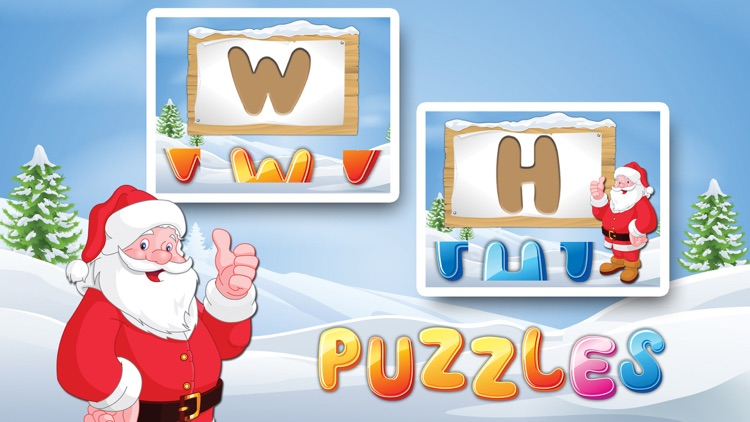 Letters with Santa Free - Kids Learn Alphabet and Letters