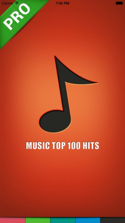 Music top 100 hits PRO