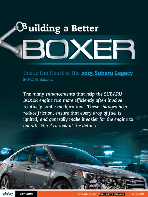Subaru Drive Magazine