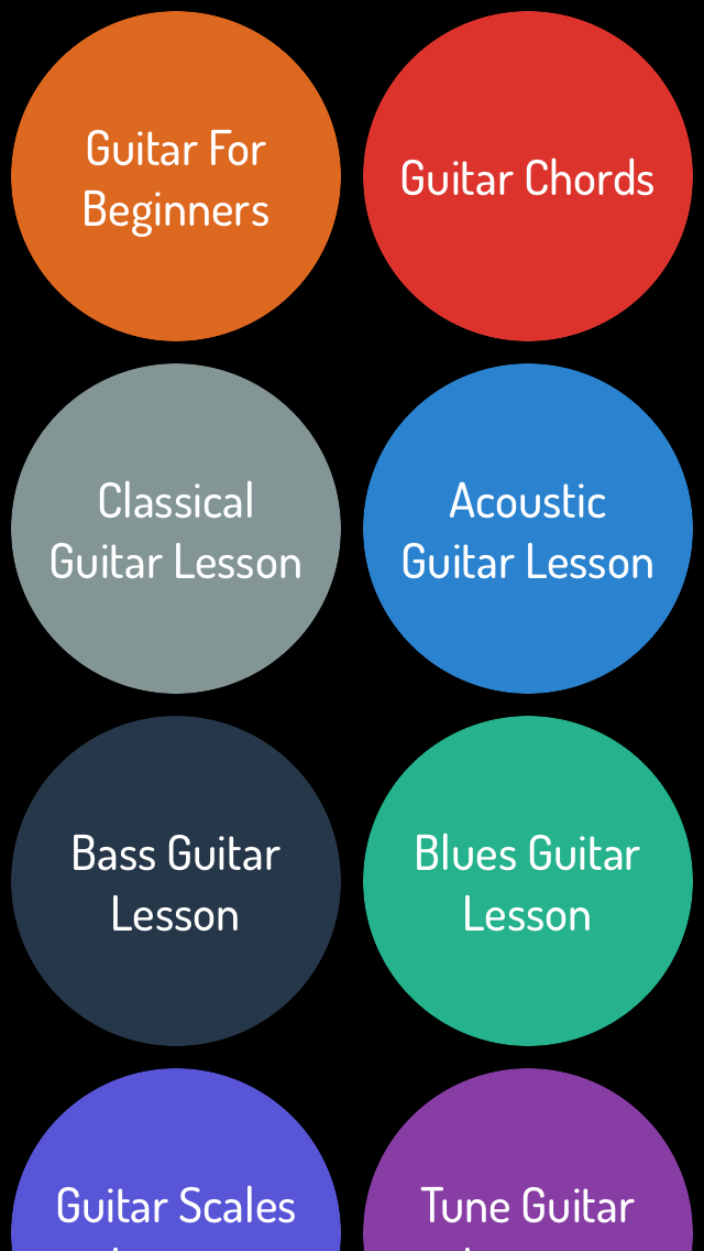 Guitar Learning Guide - Learn Guitar Step By Step screenshot one