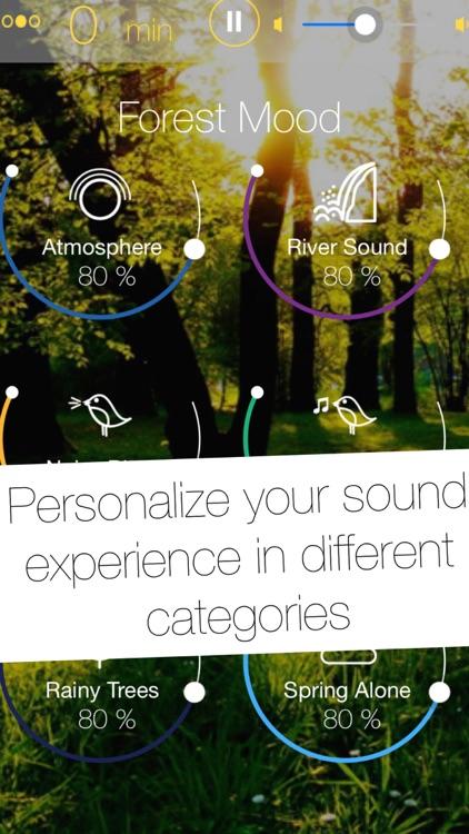 Relax App - Thunderstorm, Beach, Forest & Rain Nature Sounds for Sleep or Power Nap screenshot-3