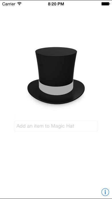 Magic Sorting Hat screenshot one
