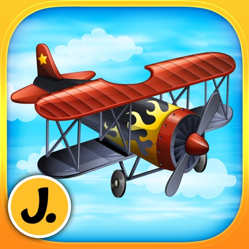 Super Airplanes - puzzle game for little boys and preschool kids