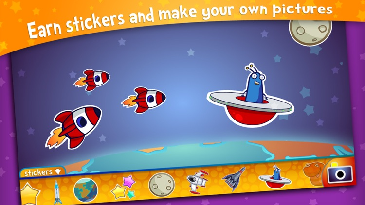 Alien Buddies – Preschool Learning Activities screenshot-4