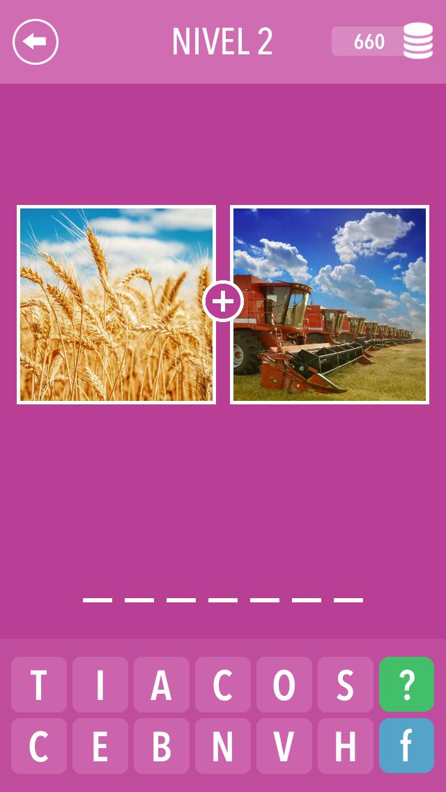 Descargar 2 Fotos 1 Palabra ~ Foto quiz gratis para Android