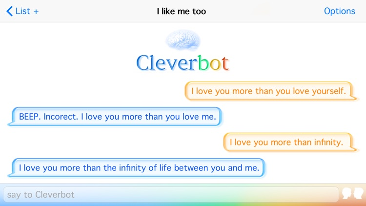 Cleverbot screenshot-2