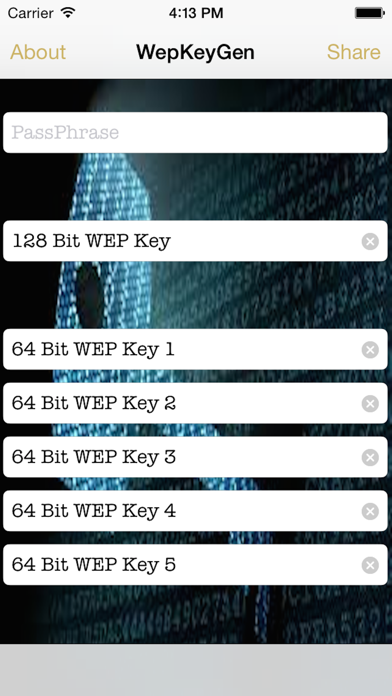 Screenshot of WepPro- WiFi Passwords for iOS 81