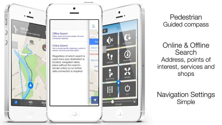 Canada Offline Maps and Offline Navigation