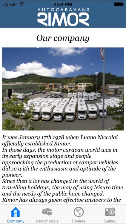 Rimor Autocaravans screenshot-3