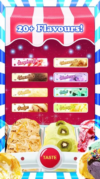 アイスクリーム - 無料ゲーム - フレーバーとトッピングのホストを使用して独自の甘いアイスクリームコーンを作るのスクリーンショット1