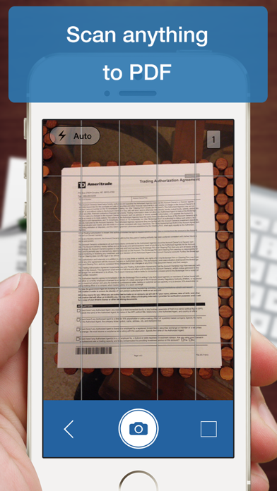 Scanner Deluxe - Scan and Fax Documents, Receipts, Business Cards to PDFのおすすめ画像3