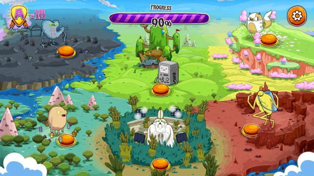 Rockstars of Ooo - Adventure Time Rhythm Game on the App Store