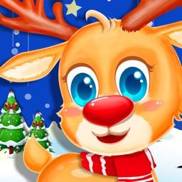 Santa's Reindeer Dress Up Salon