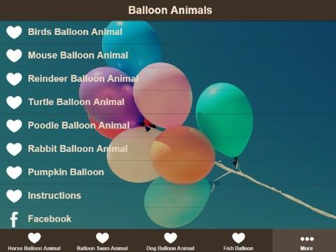 Balloon Animal Instructions Learn How To Make Balloon Animals