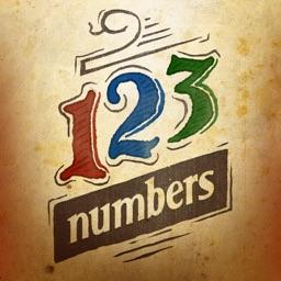 Numbers Game - doodle logic quiz. Addictive number match puzzle