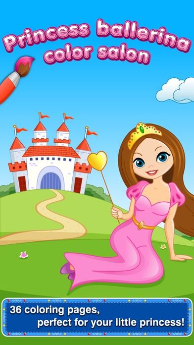 My Little Princess Ballerina Color Salon: Ballet Dancers