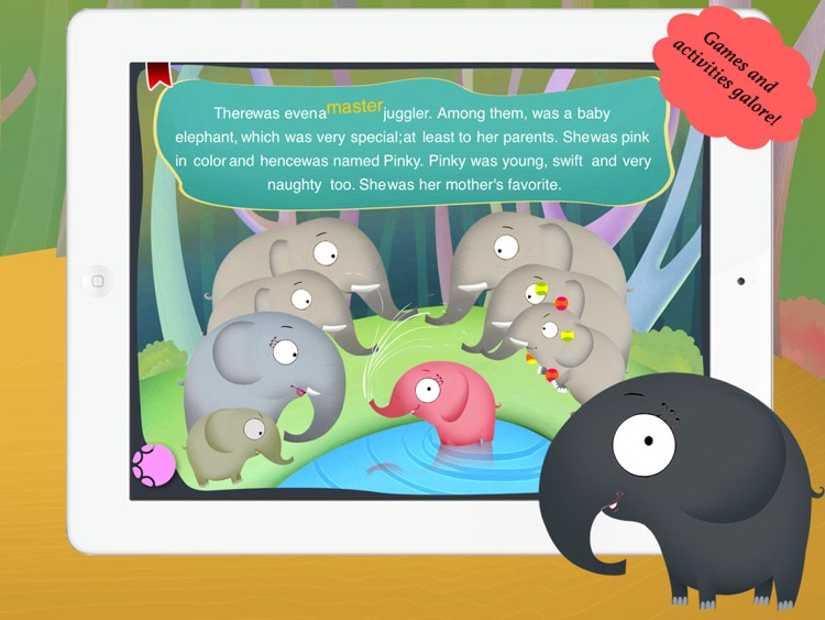 Pink Elephant for Children by Story Time for Kids screenshot-3