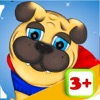 A Smart Doggies Adventure educational game for smallest kids free