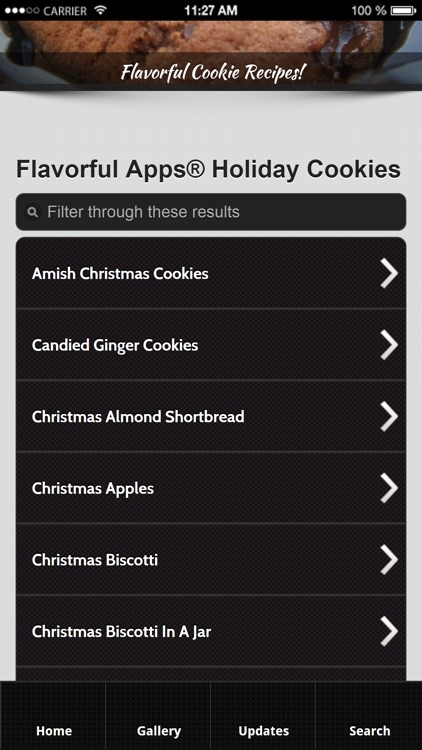 Cookie Recipes from Flavorful Apps®