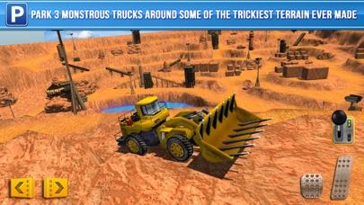Screenshot from Mining Trucker Parking Simulator a Real Digger Construction Truck Car Park Racing Games
