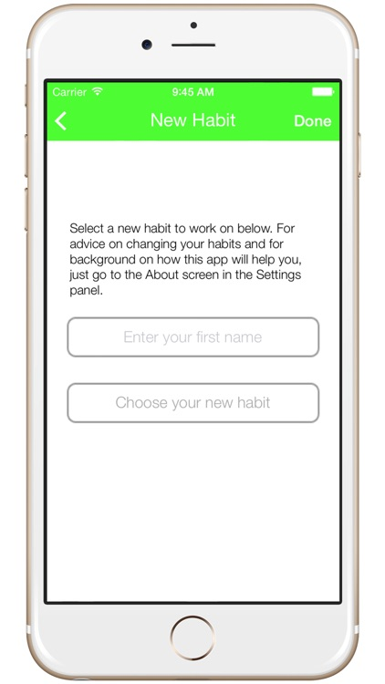 HabitApp - Improve your life one habit at a time