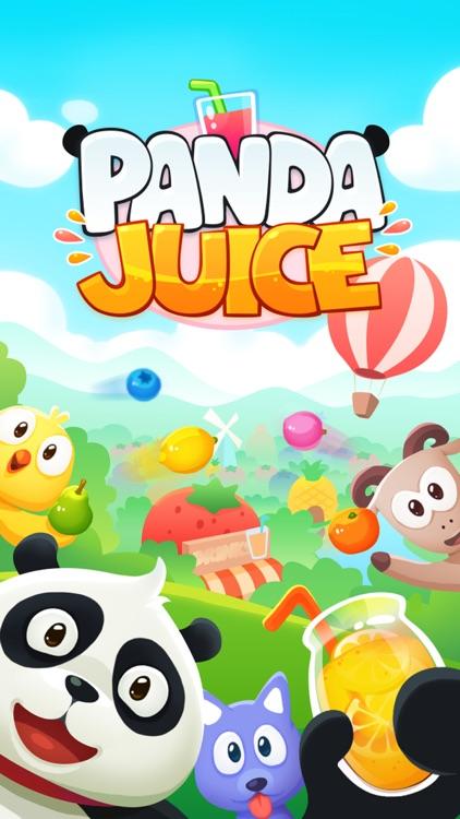 Panda Juice - matching 3 fruit land puzzle adventure screenshot-4