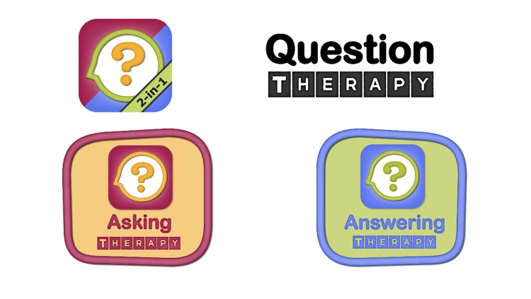 Question Therapy 2-in-1: Asking & Answering for Yes/No & Wh Questions