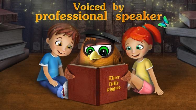 The three little pigs - preschool & kindergarten fairy tales book free for kids screenshot-3