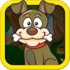 無料怒りライオンズの周りの骨の試飲南公園でフラッシュ犬